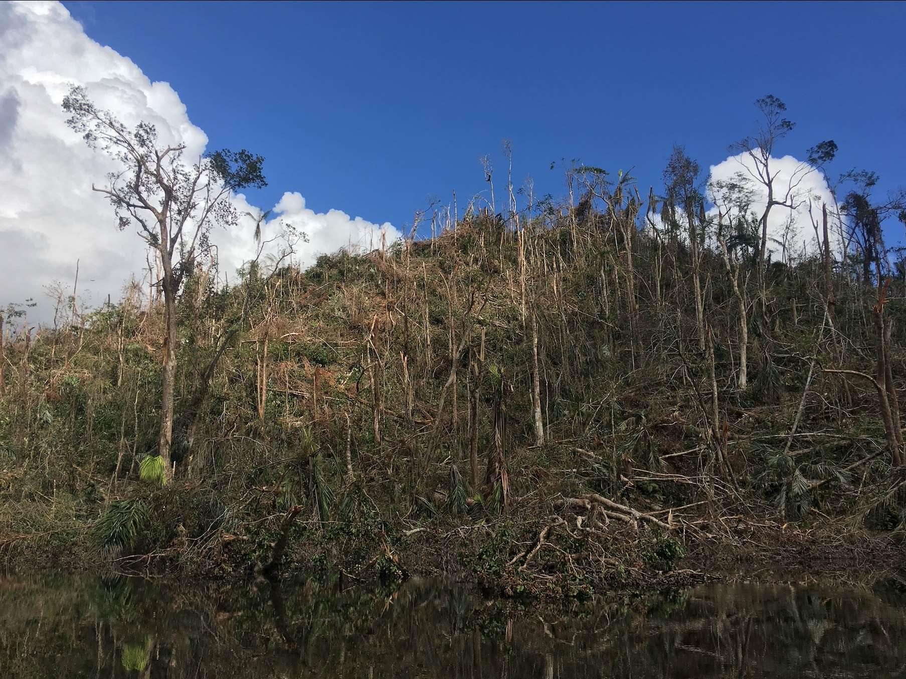 Tcucaracha Hill in Indio Maíz