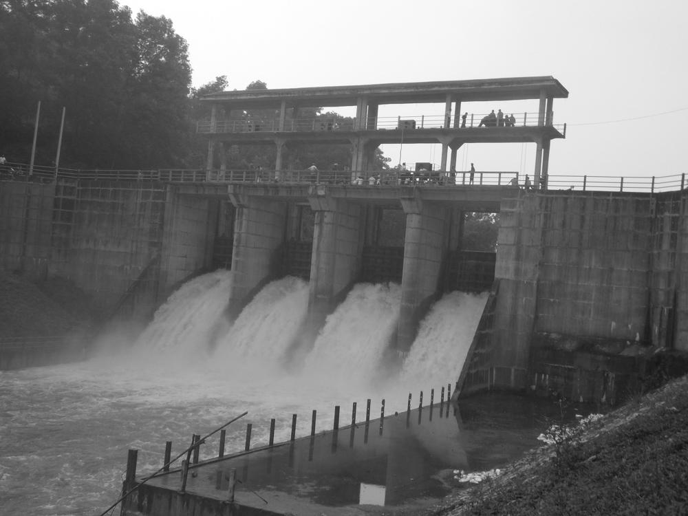 Dams releasing water
