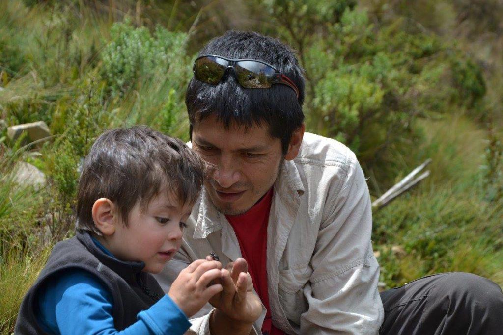 (Photo courtesy of the Bolivian Amphibian Initiative)