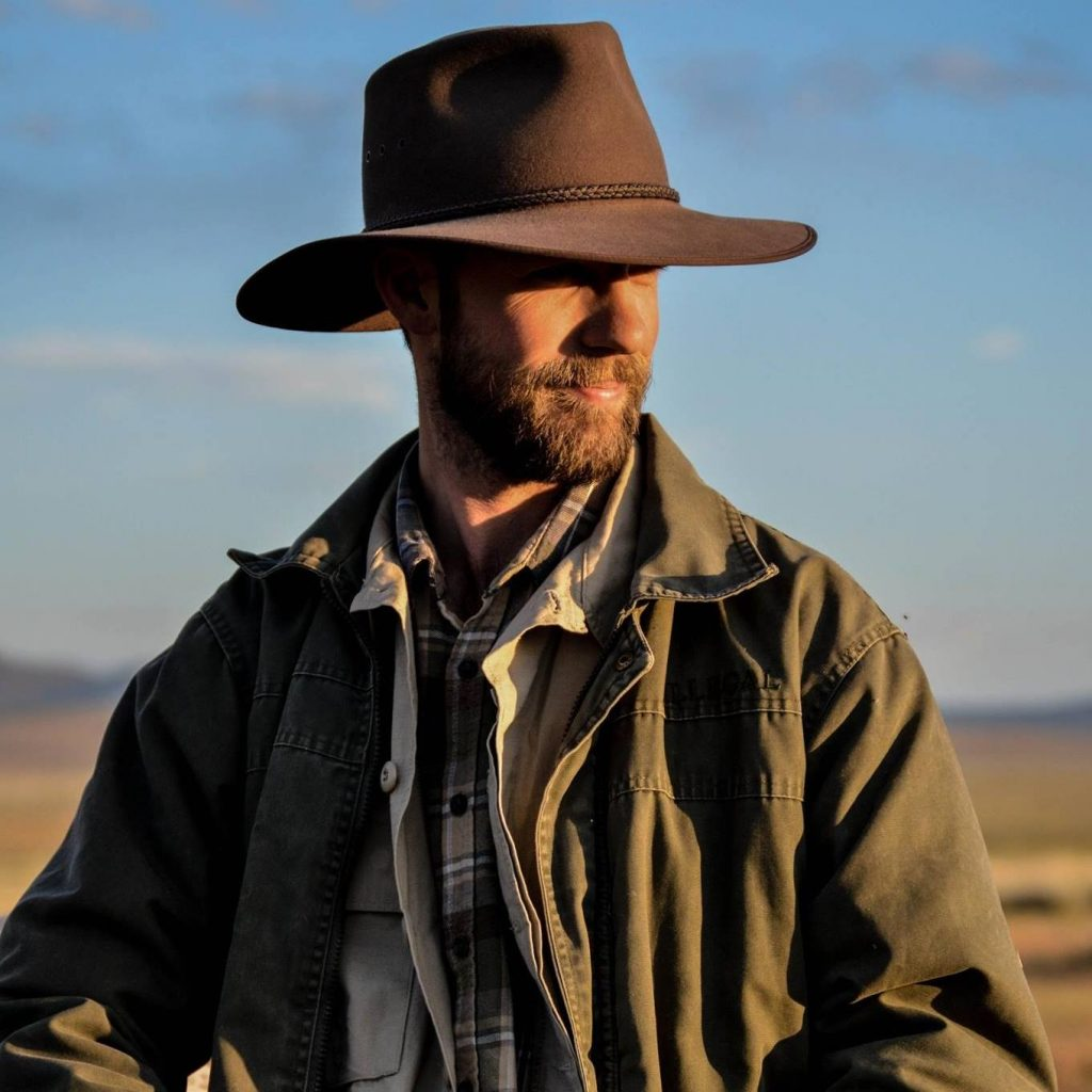 Wildlife Crime prevention officer in brown hat