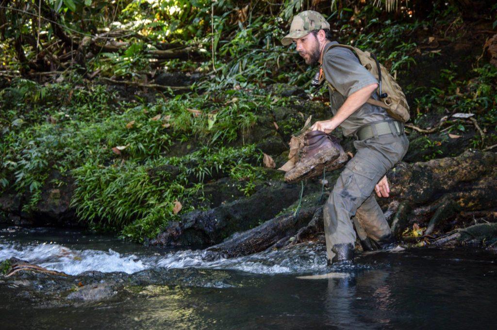 wildlife crime prevention officer in stream