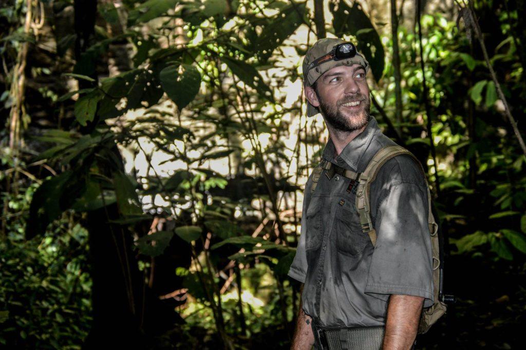 wildlife crime prevention officer smiling