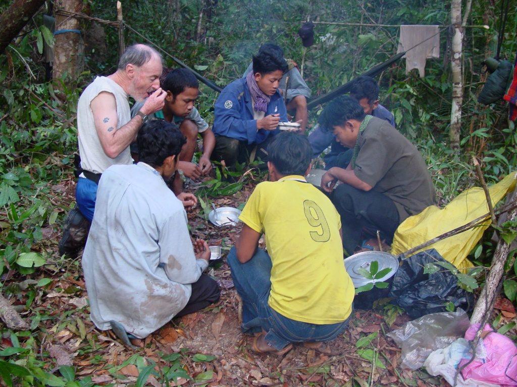 Lunch in Cambodia.