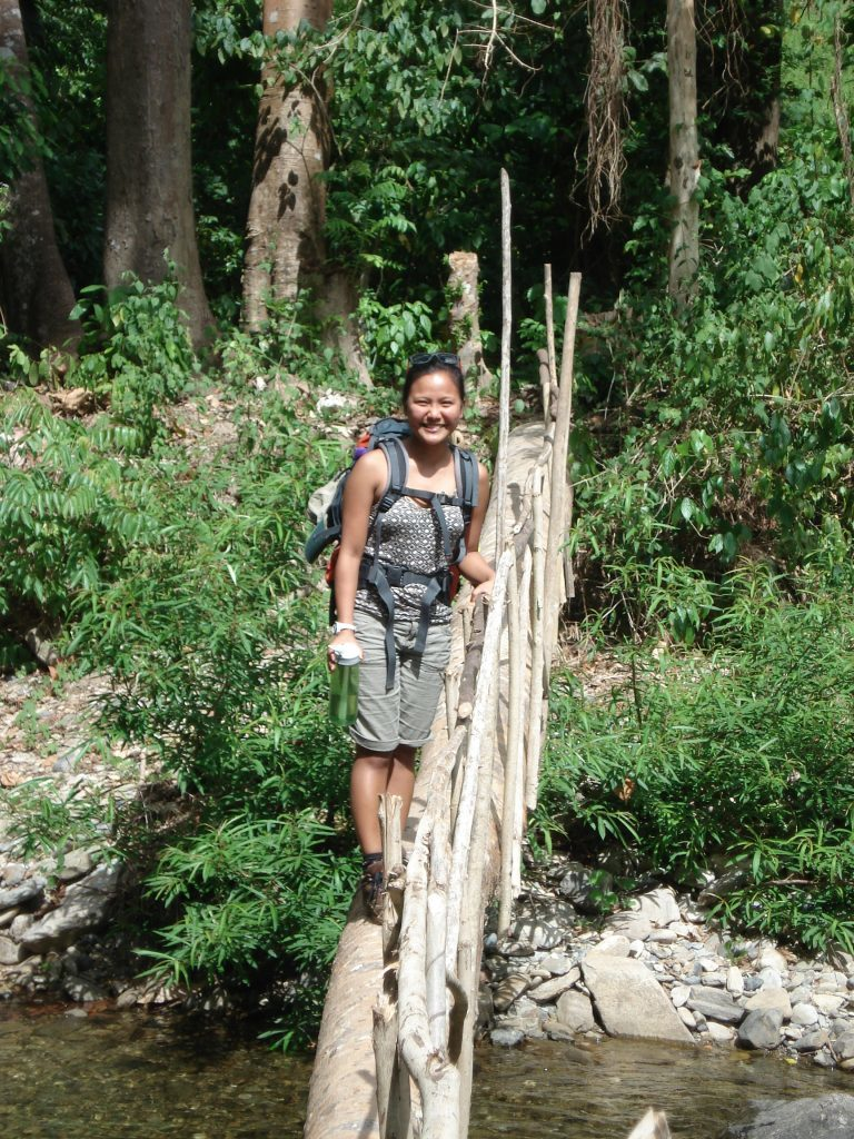 Hiking Cleopatra's Needle. (Photo courtesy of Jessa Garibay)