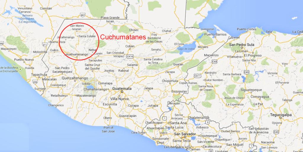 Cuchumatanes-map