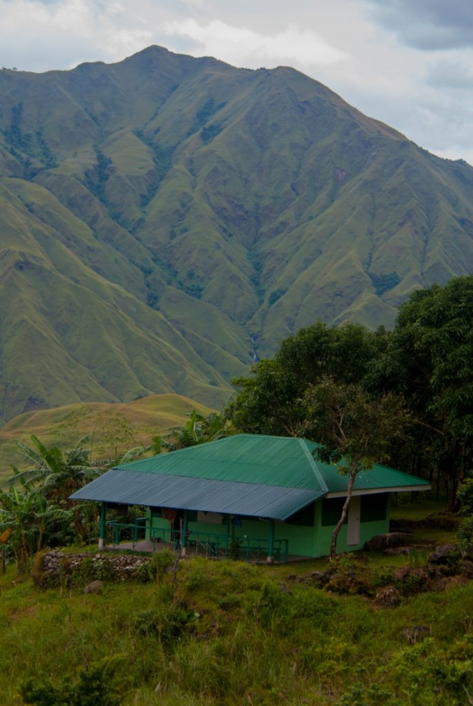 Ranger Station Three and our basecamp in Mounts Iglit-Baco National Park for surveying for the Tamaraw. (Photo by Barney Long, Global Wildlife Conservation)