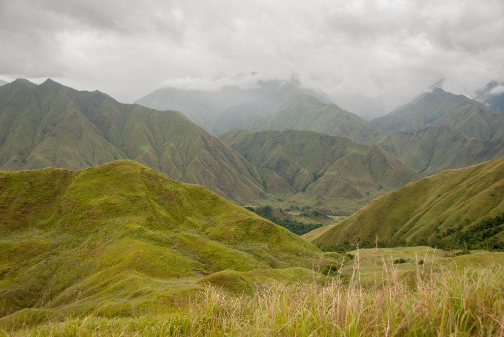 The stunning landscape of Mounts Iglit-Baco National Park. (Photo by Barney Long, Global Wildlife Conservation)