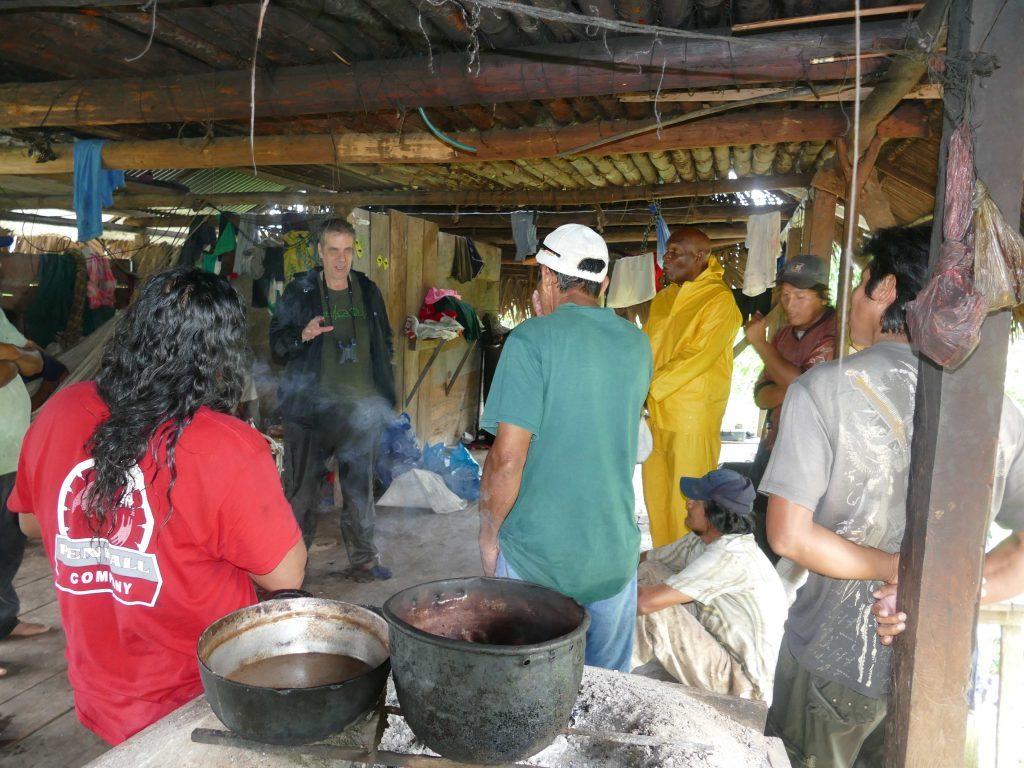 Meeting the Indio Maiz Rangers.