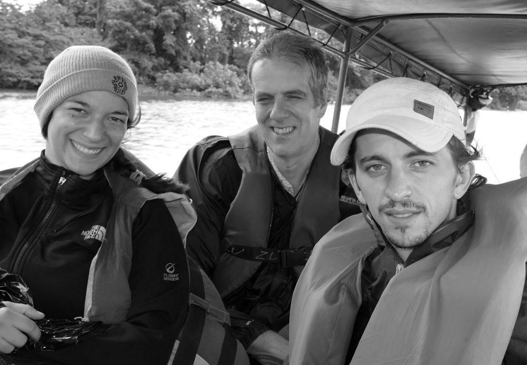 With GWC Nicaragua Program Director Chris Jordan and GWC /Panthera Volunteer Christina Capello.