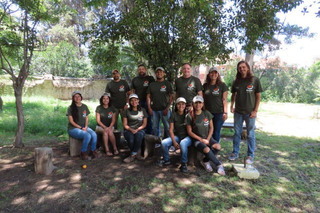 The Museo de Historia Natural Alcide d'Orbigny team. (Photo courtesy of Chris Jordan, Global Wildlife Conservation)