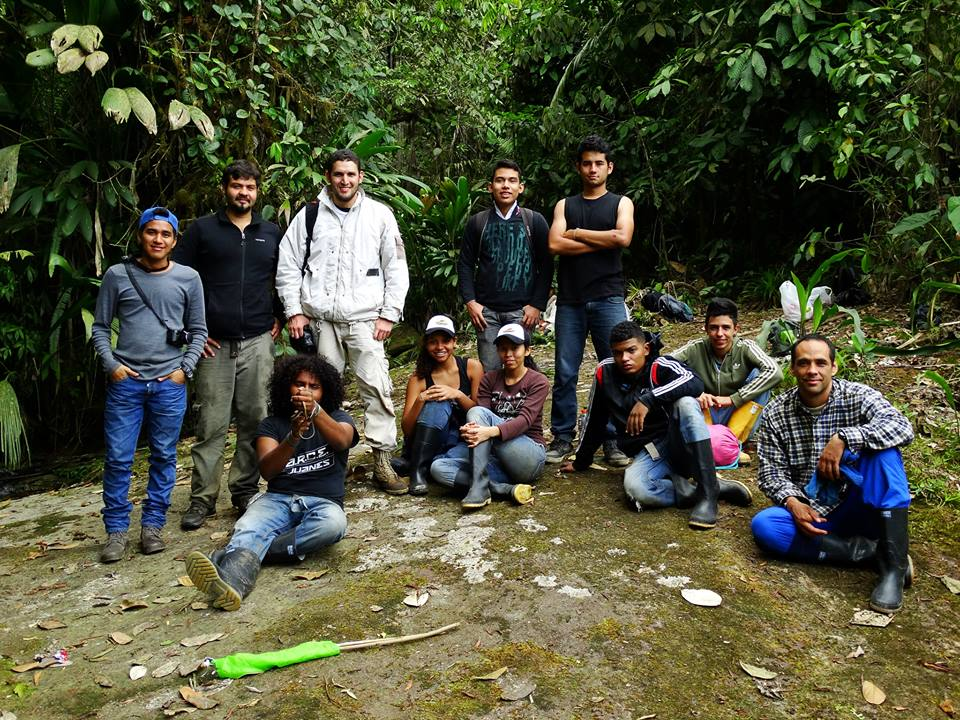 Glass Frog Expedition Team
