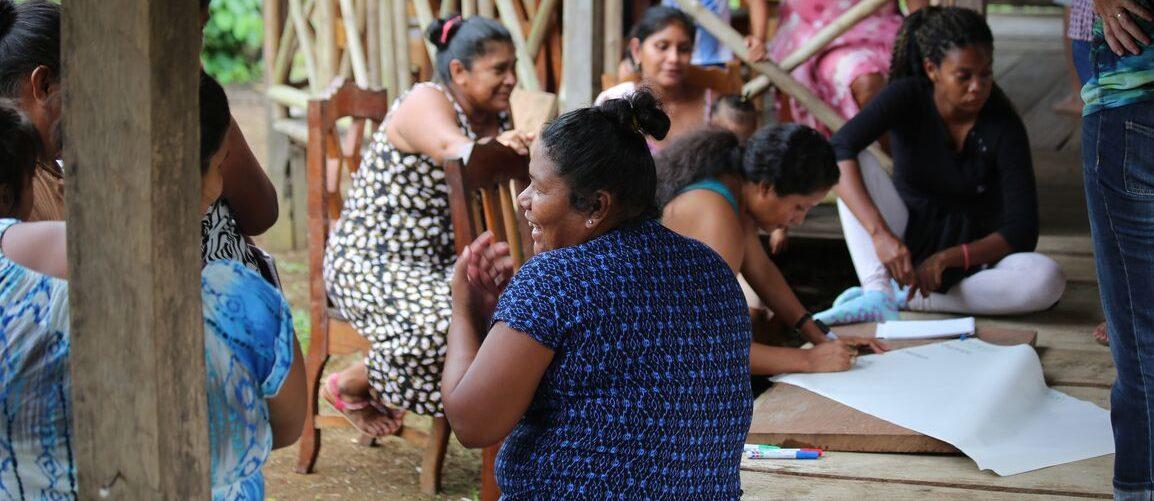 Action plan workshop in Indio Maiz Biological Reserve, Nicaragua