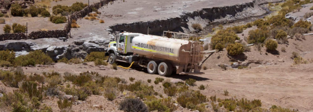 Illegal water extraction in Chile