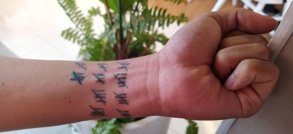 Rediscovered species tattoo