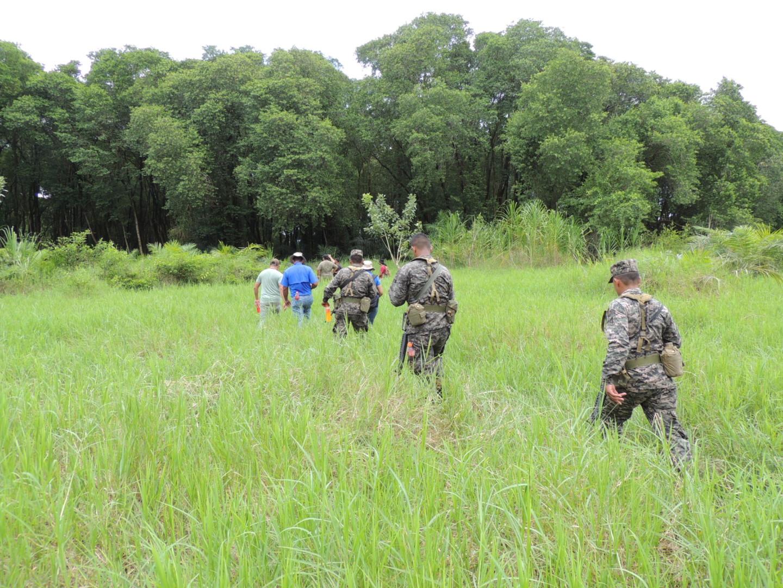SMART patrol in Honduras.