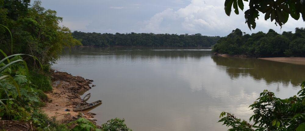 Apaporis River basin in Colombia