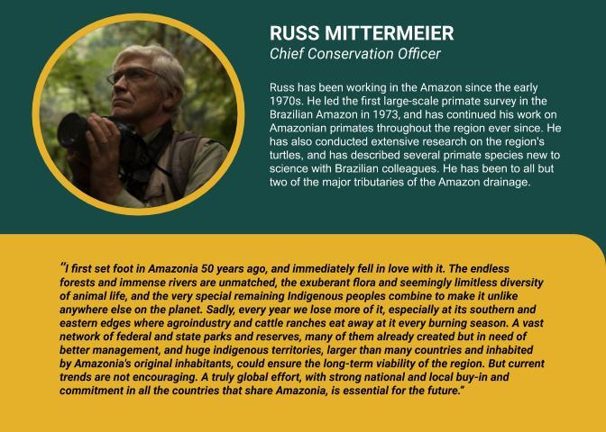 Russ Mittermeier bio and quote